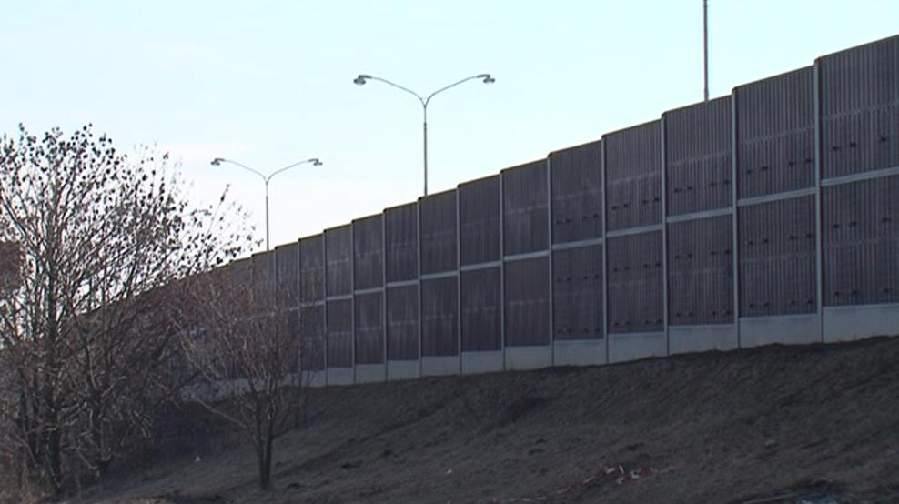Protihluková stěna, která má chránit Bosonohy