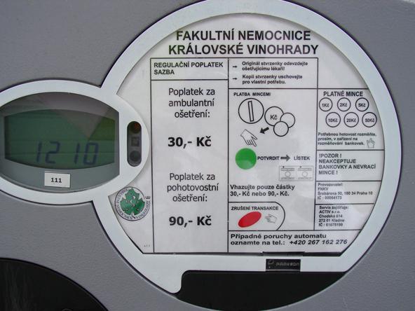 Automat na poplatky