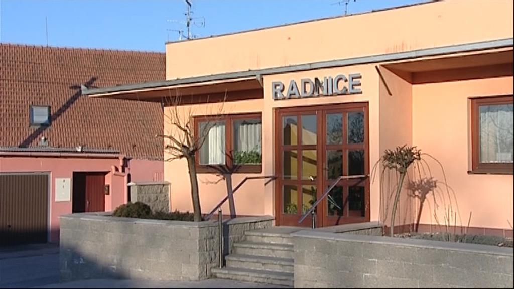 Radnice v Přibicích na Brněnsku
