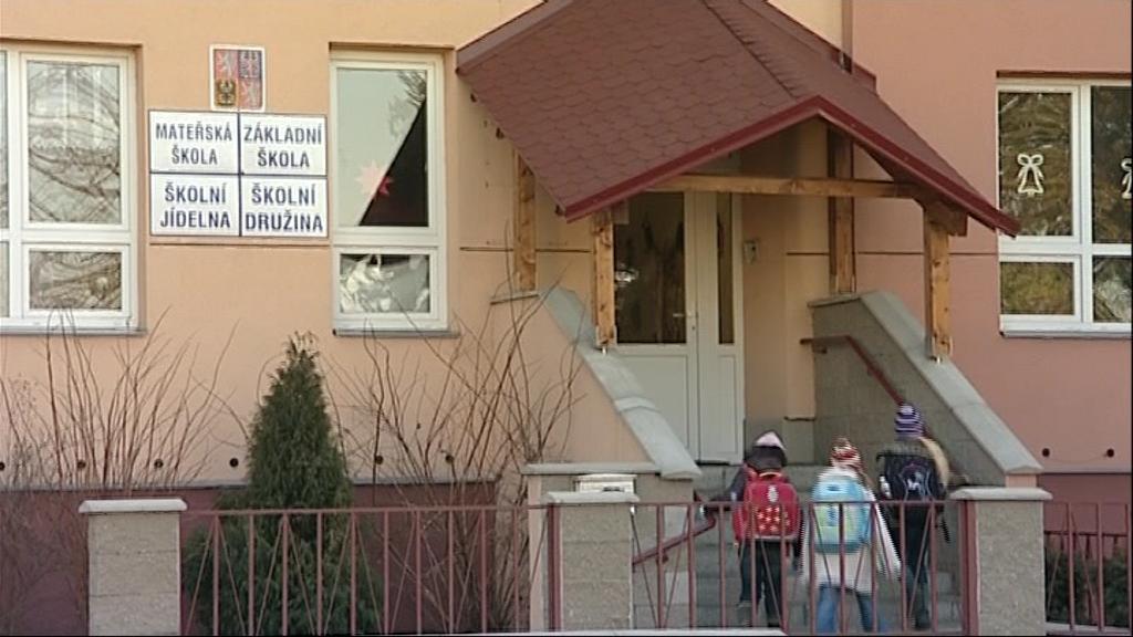 Škola v Přibicích na Brněnsku