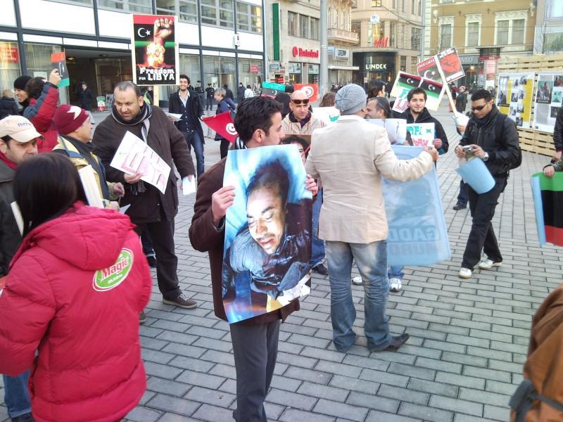 Lybijská komunita v Brně si připoměla oběti násilí Kaddáfího režimu