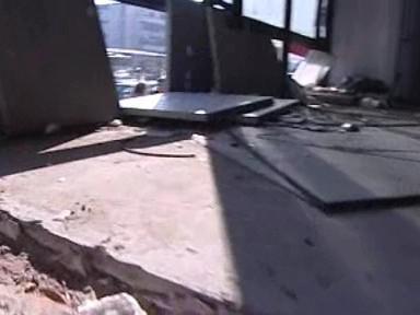 Vyhořelé kasino v centru Brna se stalo domovem bezdomovců