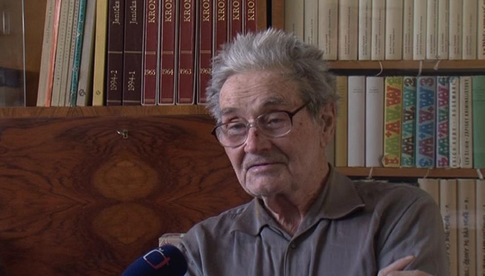 Bývalý kronikář František Mráz