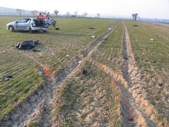 Nehoda u Topolné - 7. března 2010