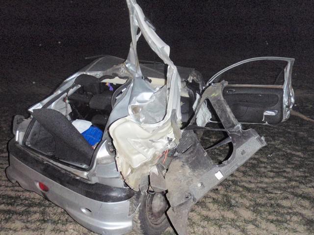 Zničené auto