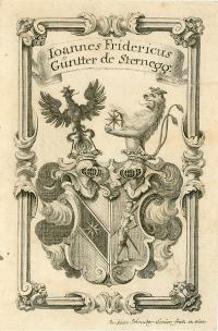 Rakouský mědiryt z 18. století