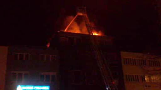 Lampiony štěstí způsobily požár střechy