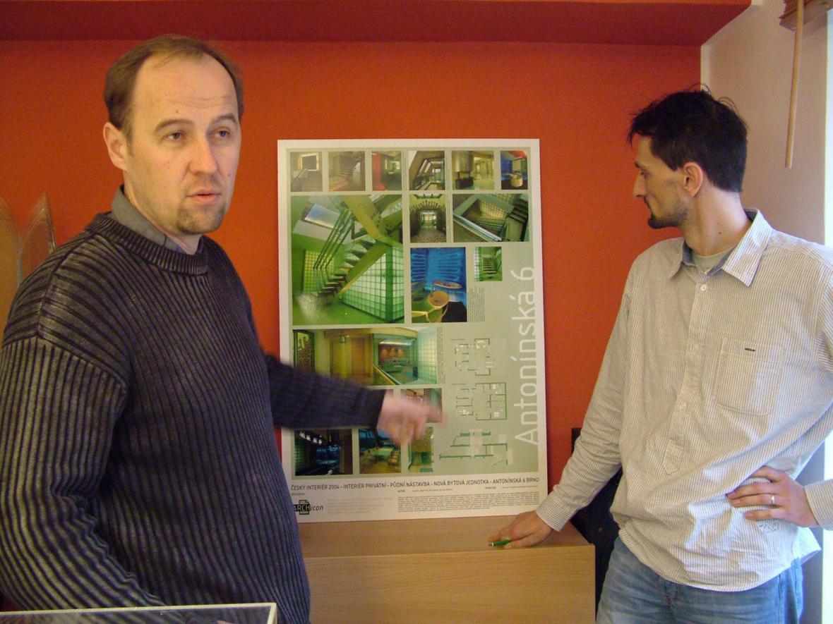 David Titz a Martin Král, autoři projektu Edison centrum