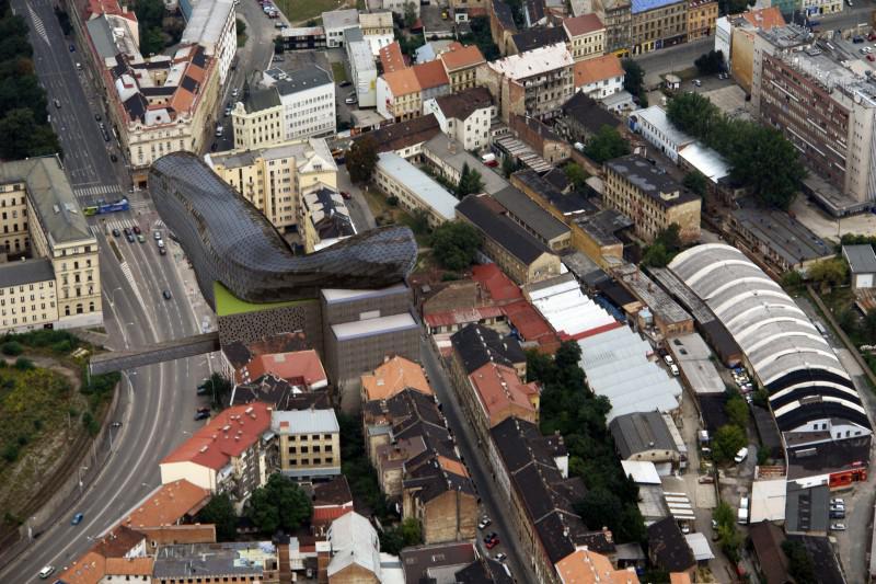Vizualizace Edison centrum Brno
