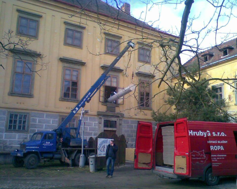 Plátna z Moravského Krumlova se stěhují do Prahy