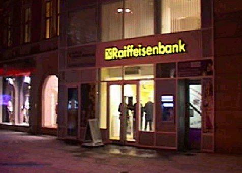 Přepadená banka v Brně