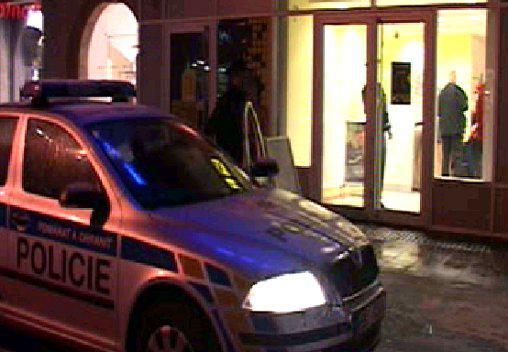 Přepadení banky v Brně