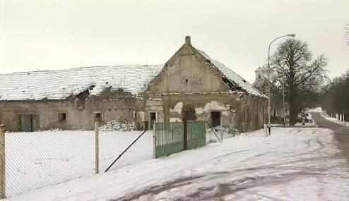 Torzo zámeckého dvora ve Slavkově u Brna