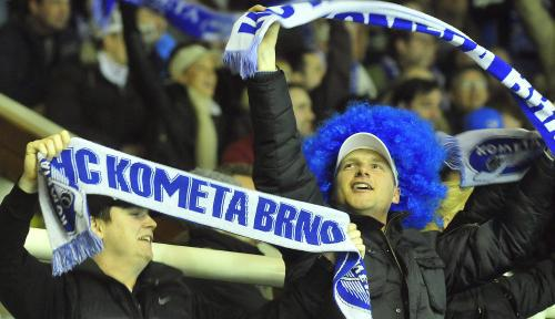 Fanoušci Komety Brno