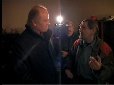 Setkání Michaela Kocába a Zdeňka Opálky v únoru 2009