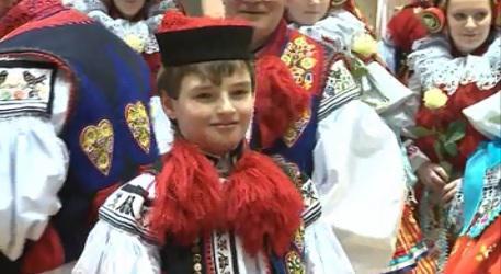 Novým vlčnovským králem se stal desetiletý Jan Procházka