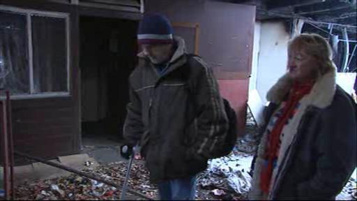 Pan Jiří bydlí v bývalé tržnici už dva roky