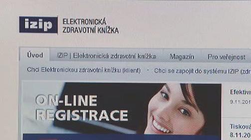 Internetový portál společnosti IZIP