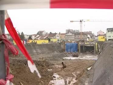 Stavba Královopolských tunelů je zastavena