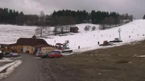 I přes oblevu se na jihu Moravy lyžuje
