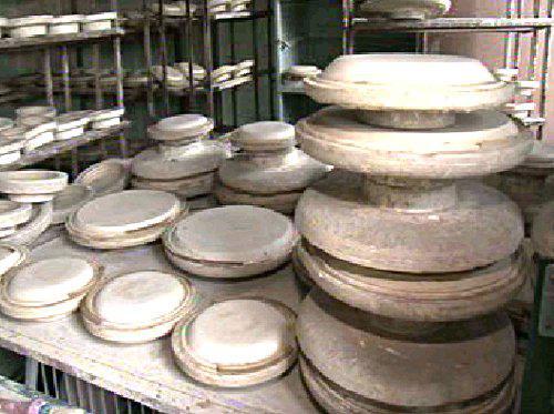 Opuštěná dílna Kunštátské keramiky
