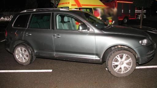 Offroad, kterým řidič srazil mladíka
