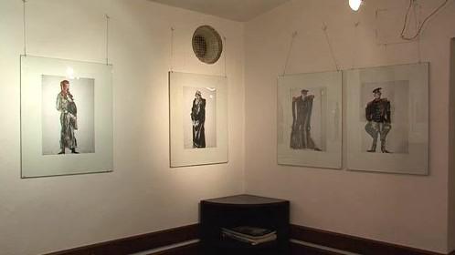 Výstava kreseb v Galerii T23