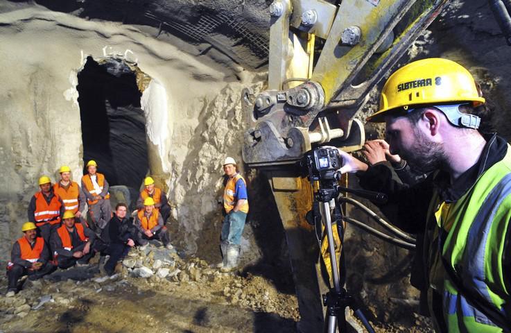 Ražba tunelu