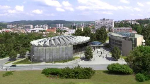 Projekt zlínského kongresového centra