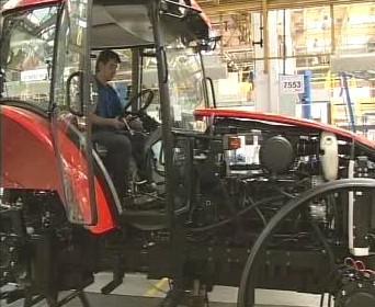 Výroba traktoru
