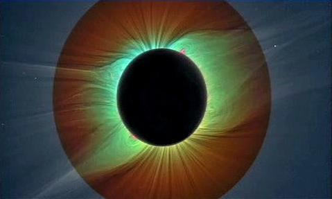 Snímek zatmění Slunce