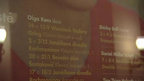 Filharmonie Brno připravuje vystoupení Olgy Kern
