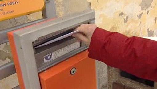 Posílání dopisu