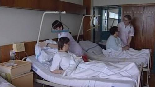Lůžkové oddělení znojemské nemocnice