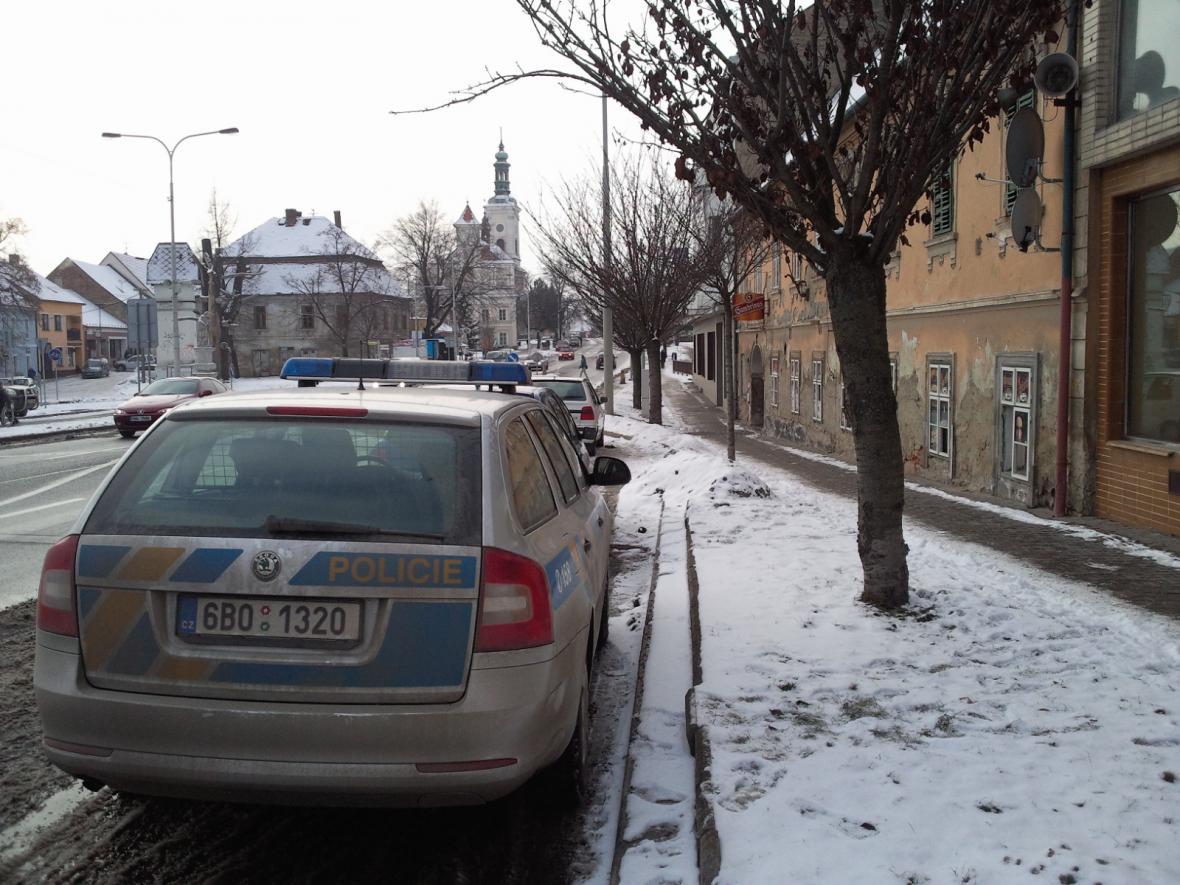 Policejní zátah v Rousínově