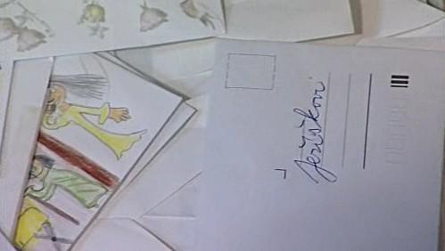 Děkovné dopisy pro Ježíška