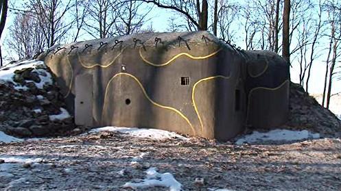 Zrekonstruovaný bunkr ve Vranově nad Dyjí