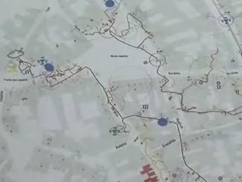 Mapa znojemského podzemí