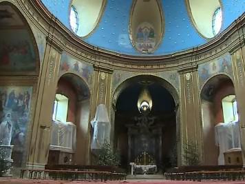 Mariánská bazilika na svatém Hostýně na Kroměřížsku