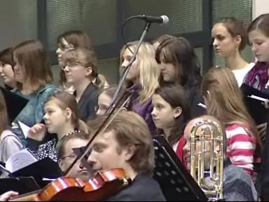Dětský sbor Kantiléna zazpívá písně acapella