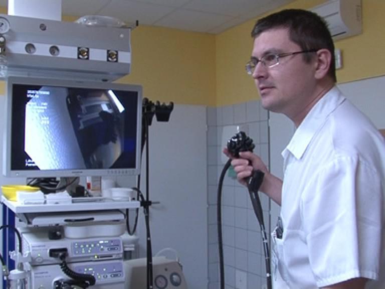 Nové endoskopické přístrojové vybavení u sv. Anny v Brně