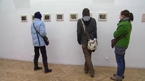Výstava obrazů Jana Pražana v Galerii mladých