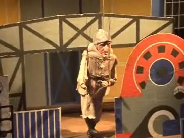 Výstava malých rodinných loutkových divadel