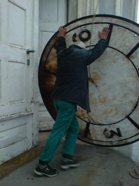 Kostelní hodiny čeká rekonstrukce