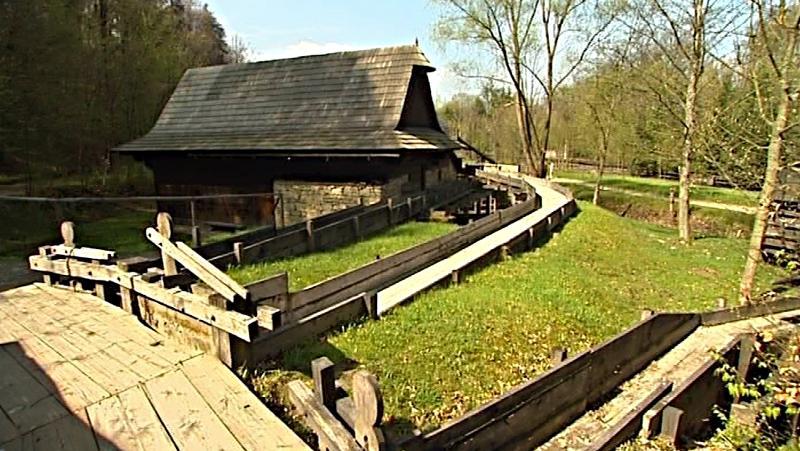 Mlýnská dolina ve Valašském muzeu