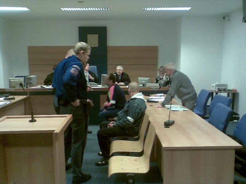 Bezdomovci u soudu
