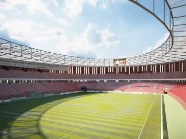 Plánovaný stadion za Lužánkami