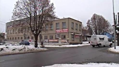 Budova bývalého Krasu