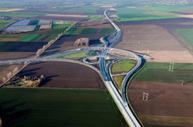 Moravská křižovatka u Hulína