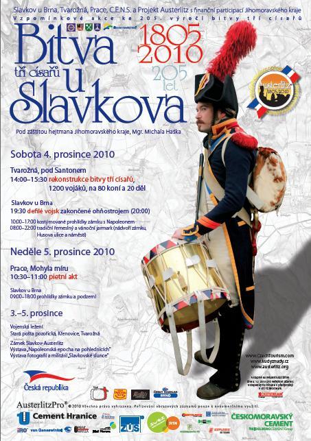 Pozvánka na bitvu u Slavkova 2010